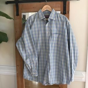 Vineyard Vines Plaid Classic Fit Burgee Shirt